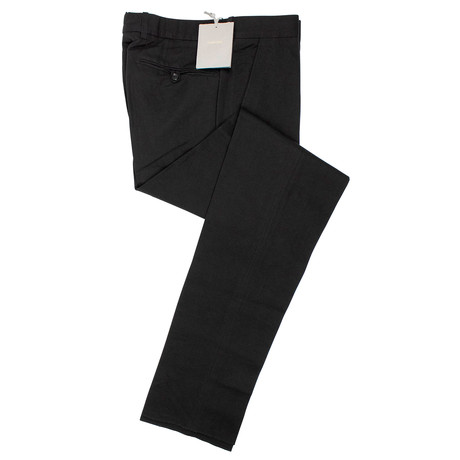 Tom Ford // Cotton Blend Pants // Black (44)