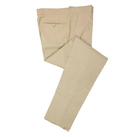 Tom Ford // Cotton Blend Pants // Tan (44)