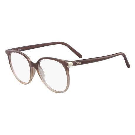 Chloe // CE2687 Eyeglass Frames //Brown Fade