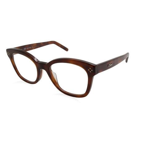 Chloe // CE2703 Eyeglass Frames // Havana