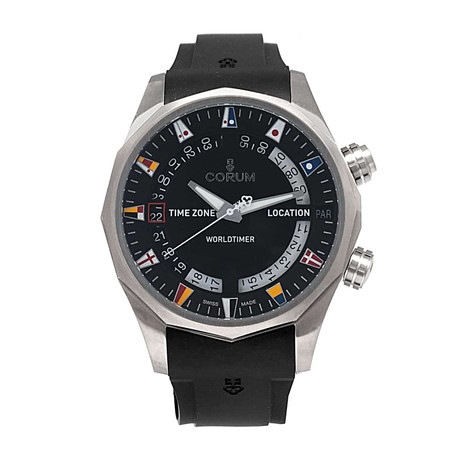 Corum Admiral's Cup Legend 47 Worldtimer Automatic // 637.101.04/F371 AN02 // Store Display