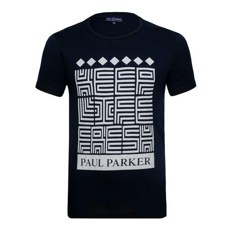 Gustavo T-Shirt // Navy (S)
