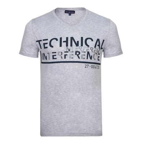 Milton T-Shirt // Gray Melange (S)
