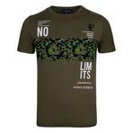 Teagan T-Shirt // Army Green (S)