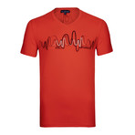 Cesar T-Shirt // Coral (S)