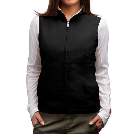 RFID-Blocking Travel Vest // Women // Black (S)