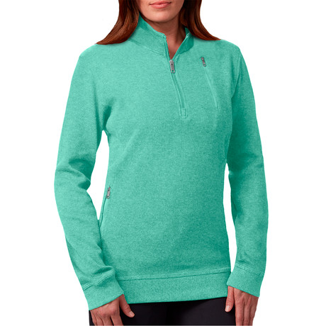 The Weekender Pullover // Women // Mint (M)