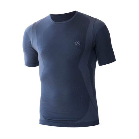 VivaSport // 5 Short Sleeve T-Shirt // Blue (S/M)