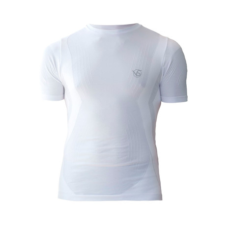 VivaSport // 5 Short-Sleeve T-Shirt // White (S/M)