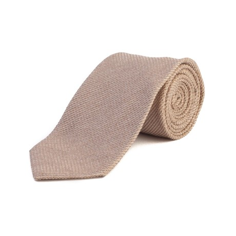 Tom Ford // Silk Woven Tie // Tan