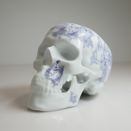 Skull TJ Blue // NooN