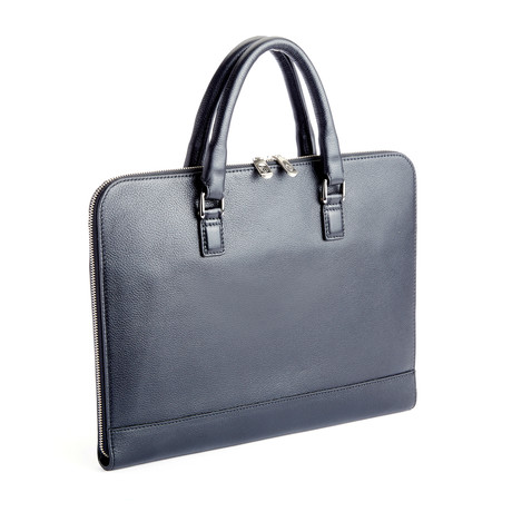 Contemporary Executive Briefcase // Black