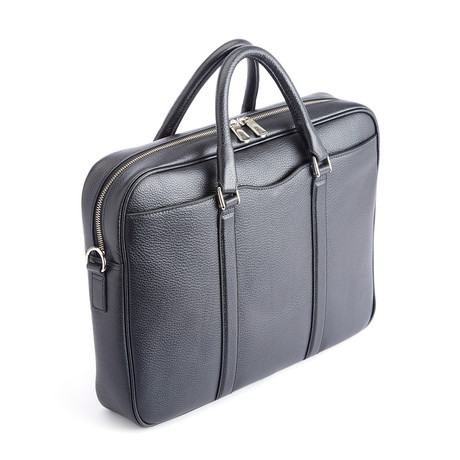 "Executive 13"" Laptop Briefcase // Black"
