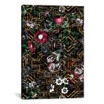 "Gatsby And Floral Pattern // Burcu Korkmazyurek (18"" W x 26"" H x 0.75"" D)"