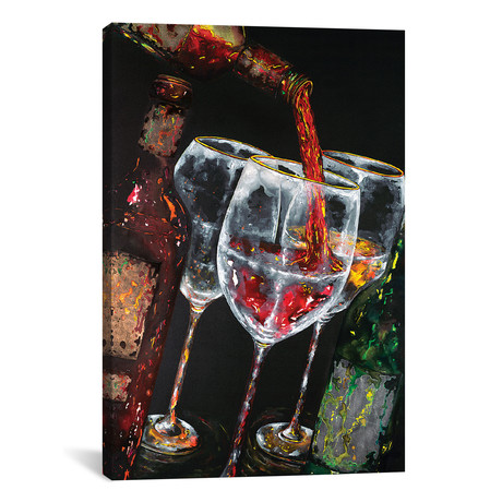 "Best For Last I // Vaso Peritos (18""W x 26""H x 0.75""D)"