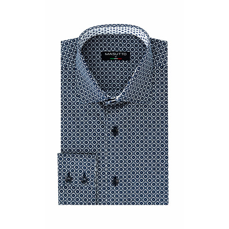 Azimot Dress Shirt // Navy (XS)