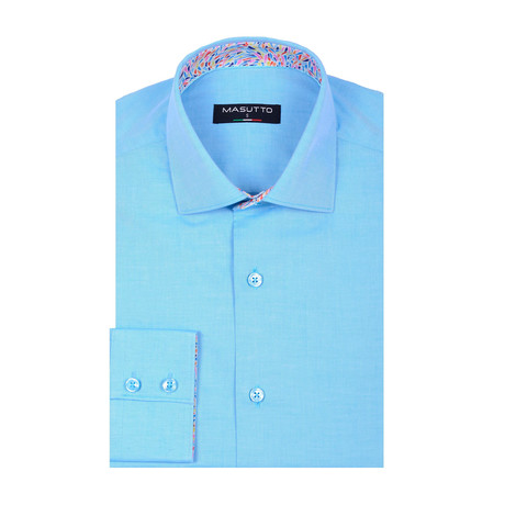 Cavani Long Sleeve Shirt // Turquoise (XS)