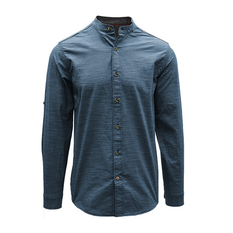 Coney Henley // Slate Blue (S)