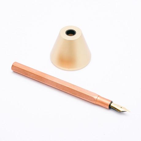 Classic Desk Fountain Pen // F Nib