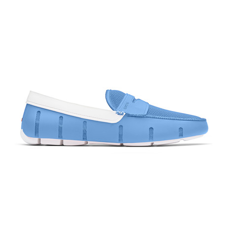 Penny Loafer // Norse Blue + White (US: 7)