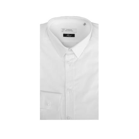 Cotton Dress Shirt // White (IT: 39)