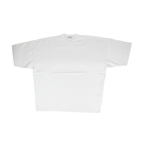 Women's Cotton Logo Short Sleeve Crewneck T-Shirt // White (XS)