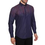 Angola Shirt // Navy Blue (XS)