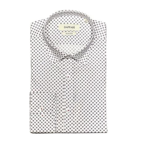 Galata Shirt // White + Red (XL)