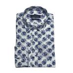 Kavarna Shirt // White + Blue (XS)
