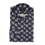 Florina Shirt // Blue + Navy Blue (XS)