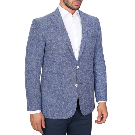 Bering Jacket // Navy Blue + White (Euro: 46)