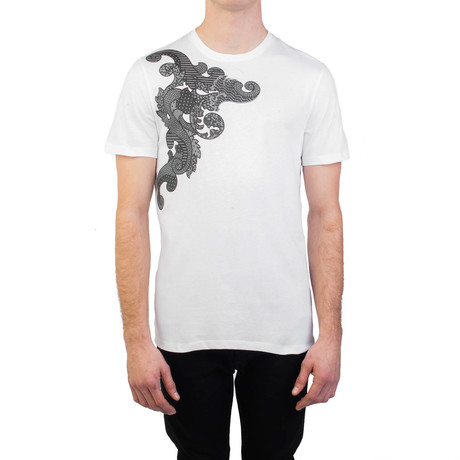 Baroque Graphic T-Shirt // White (Small)