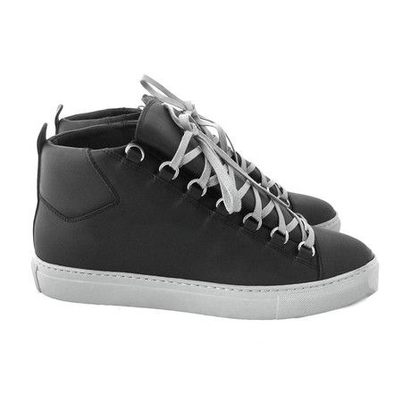 Men's Ombre Arena High-Top Black Sneakers // Black (Euro: 40)