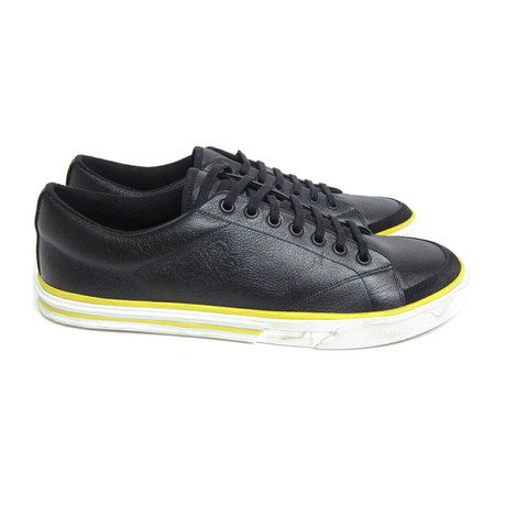 Men's Logo-stitched Sneakers // Black (Euro: 40)