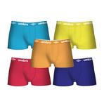 Larry Boxers // Set of 5 // Multicolor (S)