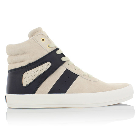 Moretti High-Top // Tan + Navy (US: 7)