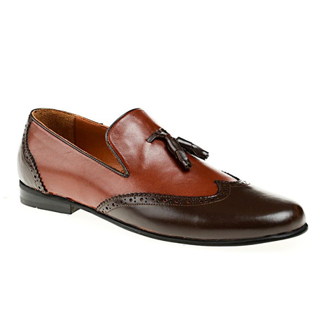 Georgio Loafer // Brown + Tobacco (Euro: 39)