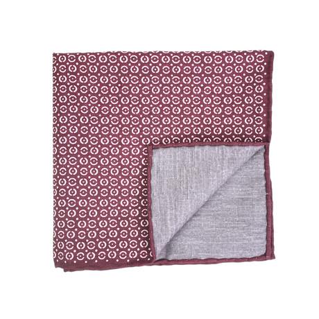 Pocket Square // Maroon