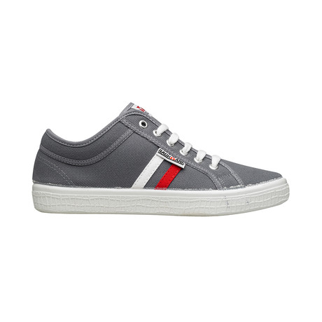 Backyard 2.0 Sneakers // Dark Gray + Red + White (Euro: 39)