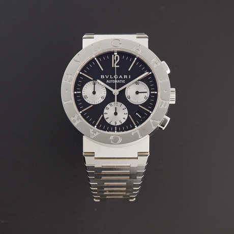 Bulgari Chronograph Automatic // BB38SSDCH // Store Display