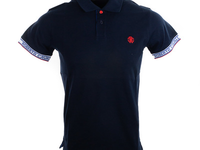 Photo of Roberto Cavalli Designer Tees & Polos Polo // Navy (S) by Touch Of Modern