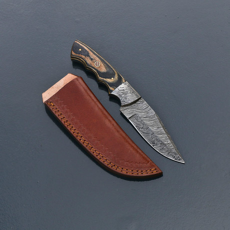 Damascus Skinner Knife // VK267