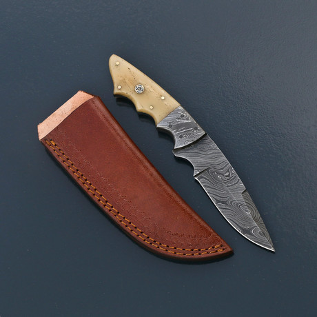 Damascus Skinner Knife // VK271