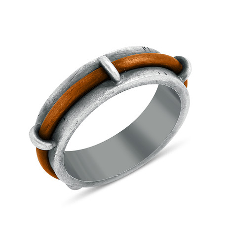 Raised Copper Ring (Size: 8)