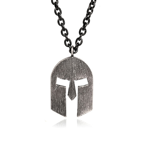 "Flat Masquerade Pendant Necklace (Length: 24"")"