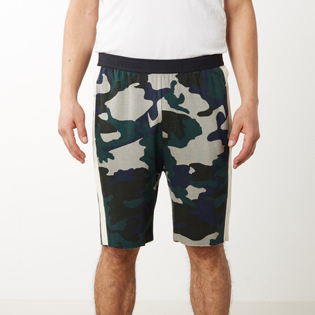 Sean Camo Lounge Shorts // Sycamore (S)