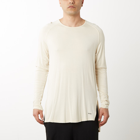 Adrian Raglan Pull-Over // Skeleton Beige (S)