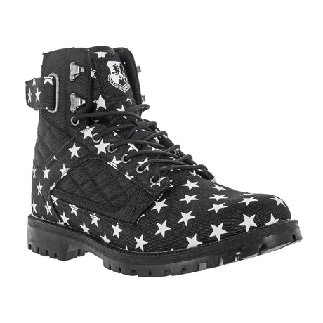 Atlas II Boots NS // Black + Star (US: 7)