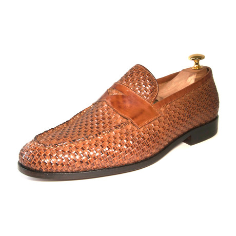Albert Woven Loafer // Brown (US: 7)