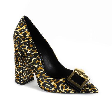 Print Design Heel // Leopard Print (Euro: 35)